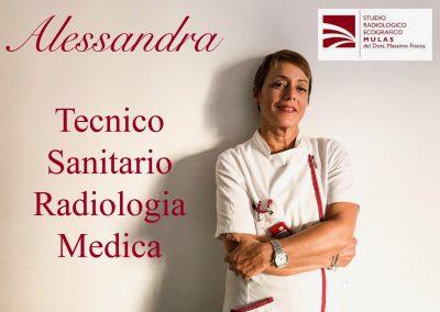 Alessandra - Tecnico Sanitario Radiologia Medica