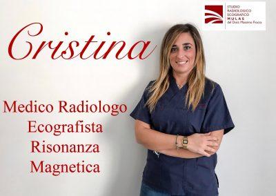 Cristina - Medico Radiologico Ecografista Risonanza Magnetica