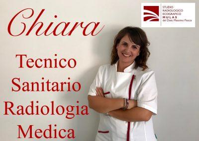 Chiara - Tecnico Sanitario Radiologia Medica
