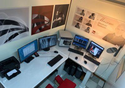 Studio radiologico Mulas - sala referti