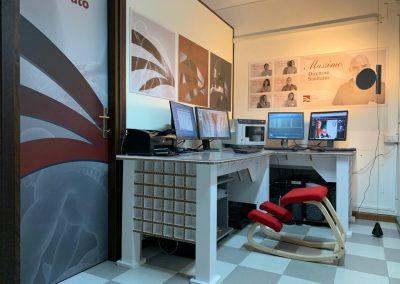 Studio radiologico Mulas - sala referti - sassari